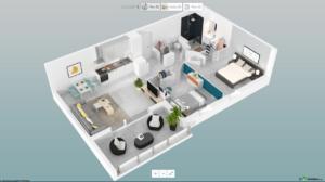 Visitez votre appartement en 3D